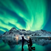 Proposal Under the Northern Lights